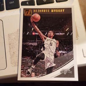 Dejounte murray basketball card